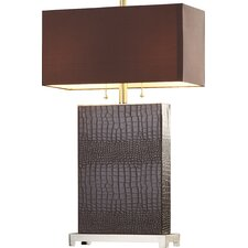 """Rye 29.5"""" H Table Lamp with Rectangular Shade"""