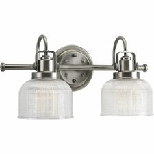 Williamson 2 Light Bath Vanity Light