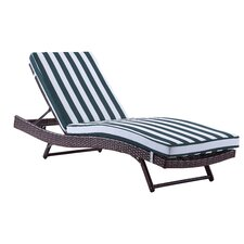 Patio Lounger with Cushion