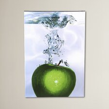Apple Splash II Photographic Print on Canvas