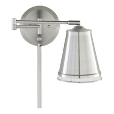 Zara Swing Arm 1 Light  Wall Lamp