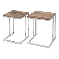 Artman 2 Piece Nesting Table Set