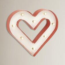 Mavek Classy LED Heart Wall Décor