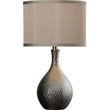 "Gama 21.5"" H Table Lamp with Drum Shade"