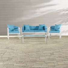Arrandale 4 Piece Deep Seating Group with Cushions