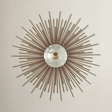 Metal Capiz Wall Decor