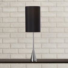 """Mars 36.5"""" H Table Lamp with Drum Shade"""