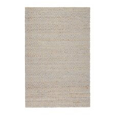 Pyrrhos Diamond Hand-Woven Gray Area Rug