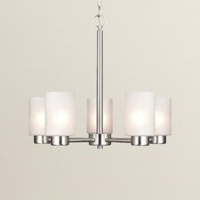 Appell 5 Light Indoor Chandelier