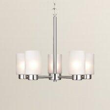 Appell 5 Light Indoor Chandelier