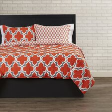 Damien Quatrefoil Comforter Set