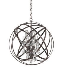 Dorota 4 Light Globe Pendant