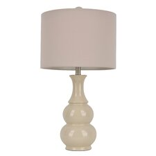 "Miltiades 26.5"" H Table Lamp with Drum Shade"
