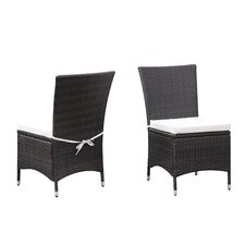 Lachesis Dining Side Chair with Cushion (Set of 2)