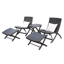 Lachesis 5 Piece Seating Group with Back Pillows