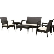 Kassiopeia 6 Piece Sofa Seating Group with Cushions