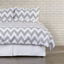 Dion Chevron Duvet Cover Set