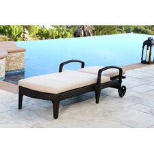 Jupiter Chaise Lounge with Cushion