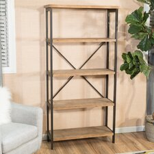 "Parthenia 68.5"" Accent Shelves Bookcase"