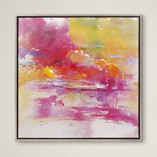 Framed Oil Painting Print on Canvas