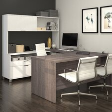 Ariana 4-Piece U-Shape Desk Office Suite