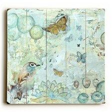 Butterfly Bird and Music Wall Art