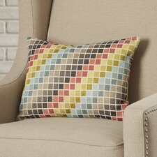 Canyon Creek Tetris Feathered Lumbar Pillow