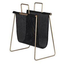 Abram Iron/Resin Wicker Magazine Rack