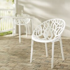 Metrocles Stacking Dining Side Chair (Set of 2)