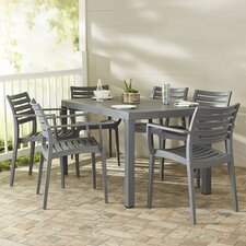 Nikoleta 7 Piece Dining Set