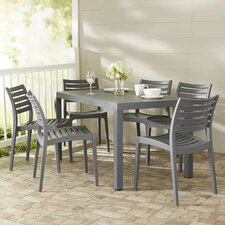 Melissus 7 Piece Outdoor Dining Set