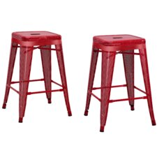 "Uriarte 24"" Bar Stool (Set of 2)"