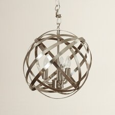 Dorota 3 Light Globe Pendant