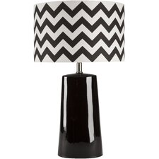 "Barnesville 24"" H Table Lamp with Drum Shade"