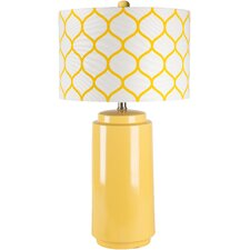 "Astor Row 29"" H Table Lamp with Drum Shade"
