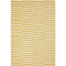 Braxton Yellow Area Rug
