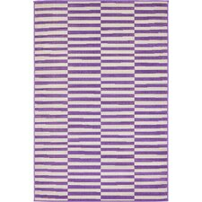 Braxton Purple Area Rug