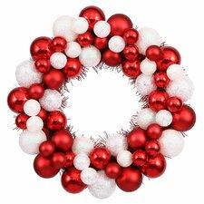 Shatterproof Christmas Ball Ornament Wreath