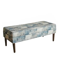 Beaird Upholstered Storage Entryway Bench