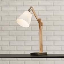 """Puppis 25"""" H Table Lamp with Empire Shade"""