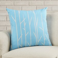 Woven Polyester Throw Pillow