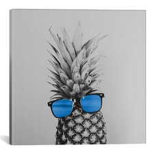 Mr. Pineapple II Photographic Print on Wrapped Canvas