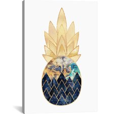 Precious Pineapple I Graphic Art on Wrapped Canvas