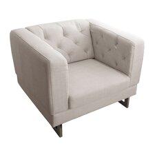 Stark Club Chair in Cream