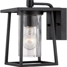 Bissonnette 1 Light Outdoor Wall Lantern