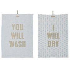 2 Piece Kitchen Towel Set