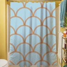 Archey Circles Shower Curtain