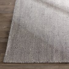 Marcelo Flat Woven Gray Area Rug