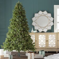 7.6' Spruce Artificial Christmas Tree with 550 Clear Lights