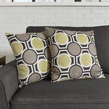 Mallus Fabric Throw Pillow (Set of 2)